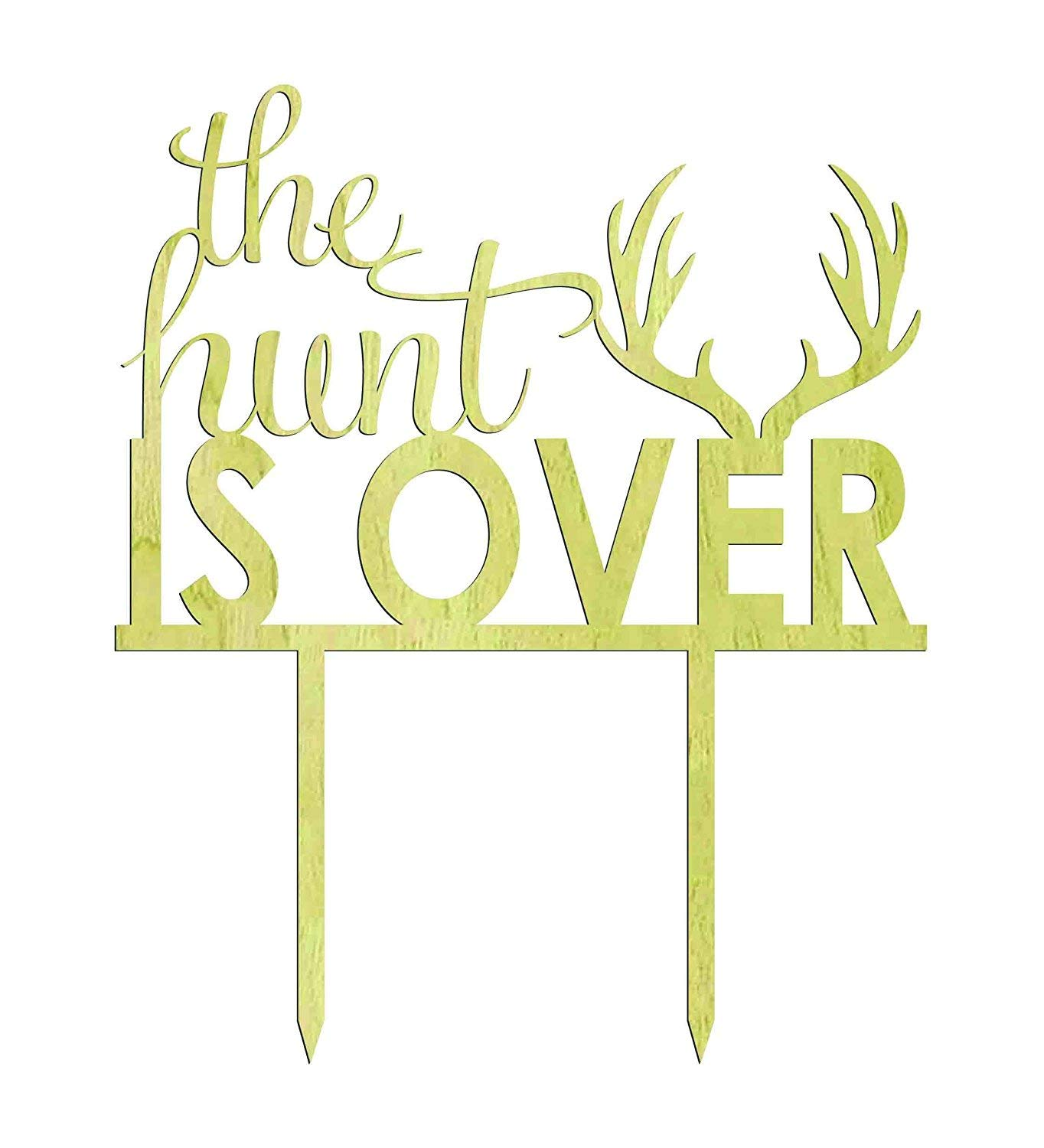 The hunt is over clipart freeuse library \