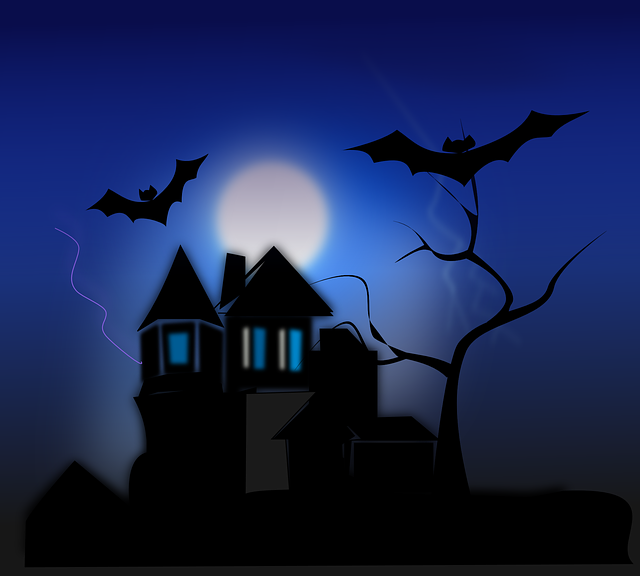 The inside of a spooky house clipart stock Inside a Haunted House… Happy or Hell? – Haunted Times stock