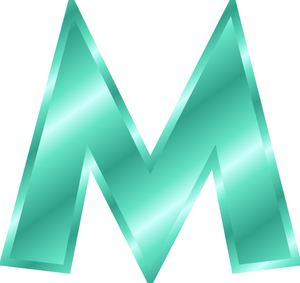 The letter m clipart image free library The letter m clipart - ClipartFest image free library