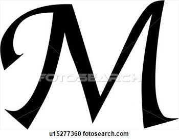 The letter m clipart picture royalty free stock Letter M Clipart - Clipart Kid picture royalty free stock