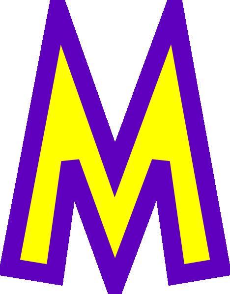 The letter m clipart jpg library stock Letter M Clipart - Clipart Kid jpg library stock