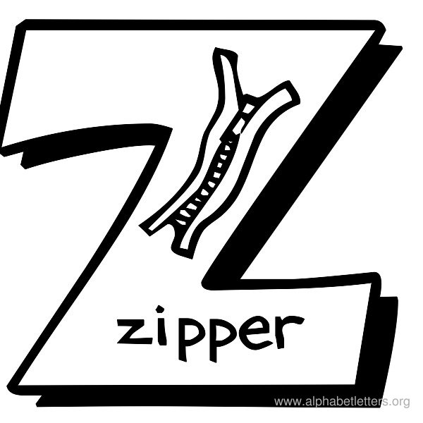 The letter z clipart png black and white stock Letter Z Clipart - Clipart Kid png black and white stock