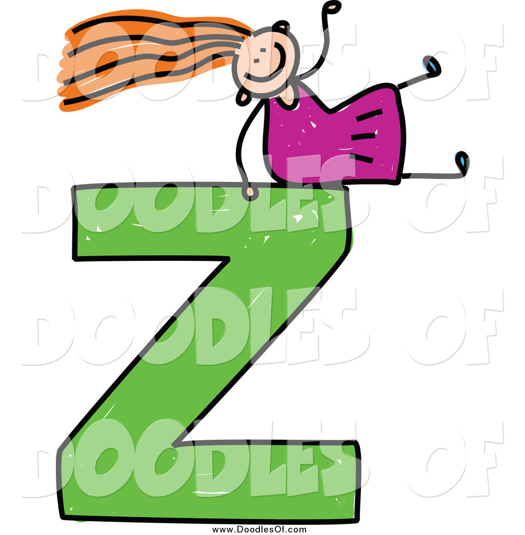 The letter z clipart png stock Royalty Free Letter Z Stock Doodle Designs png stock