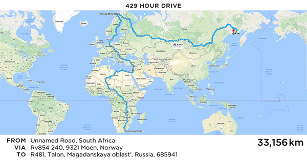 The long way route clipart vector royalty free stock Longest Google Maps Route - Martin Krzywinski / Genome ... vector royalty free stock