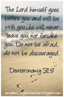 The lord appeared to me in a faraway place clipart clipart transparent library Deuteronomy 31: 8--one of my favorite verses~ | Christian ... clipart transparent library