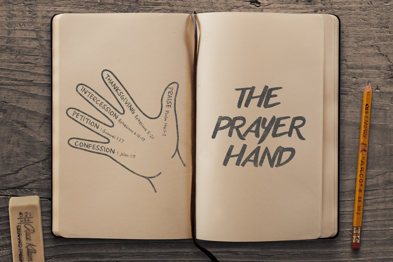 The lord s prayer kids clipart clip transparent stock The Prayer Hand   The Navigators clip transparent stock