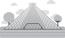 The louvre clipart jpg free library Search Results for louvre - Clip Art - Pictures - Graphics ... jpg free library