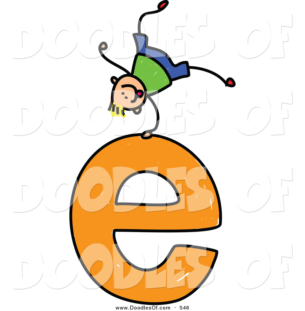 The lower case letter e clipart graphic royalty free download Royalty Free Letter E Stock Doodle Designs graphic royalty free download