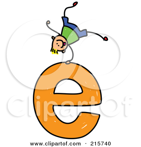 The lower case letter e clipart clip transparent stock Royalty Free Letter E Illustrations by Prawny Page 1 clip transparent stock