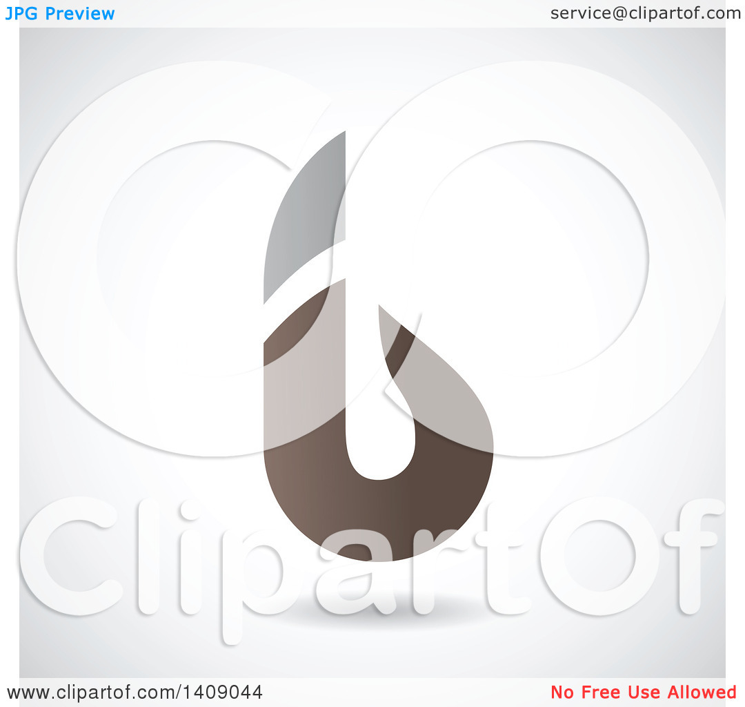 The lowercase letter b clipart picture library library Clipart of a Bold Lowercase Letter B Abstract Design - Royalty ... picture library library
