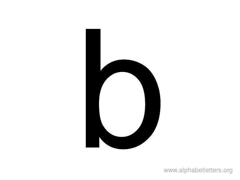 The lowercase letter b clipart vector black and white The lowercase letter b clipart - ClipartFest vector black and white