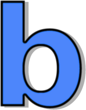 The lowercase letter b clipart png freeuse Mrs.Cartelli - Letter B png freeuse