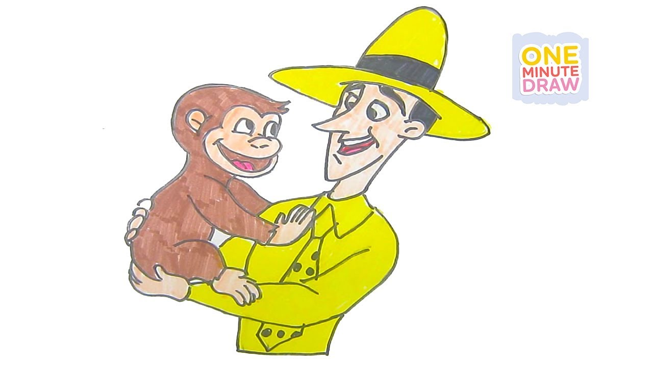 The man in the yellow hat clipart vector download Curious george clipart man - 114 transparent clip arts ... vector download