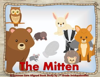 The mitten story clipart png freeuse library The Mitten by Jan Brett: A Common Core Aligned Book Study png freeuse library