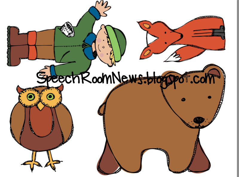 The mitten story clipart png freeuse library The Mitten: Preschool Unit - Speech Room News png freeuse library