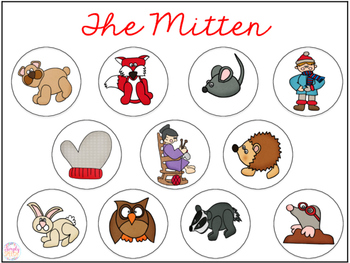 The mitten story clipart graphic transparent The Mitten Smash Mat FREEBIE! graphic transparent