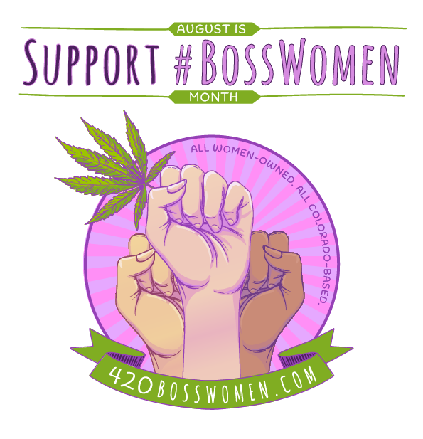 The month of august clipart svg freeuse library 420 Boss Women | August is Cannabis Women's Month! svg freeuse library