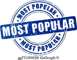 The most popular clipart image transparent stock Most Popular Clip Art - Royalty Free - GoGraph image transparent stock