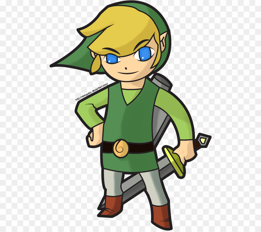 The name i go by zelda you clipart clipart free stock Link Cartoon PNG The Legend Of Zelda: The Wind Waker Link ... clipart free stock