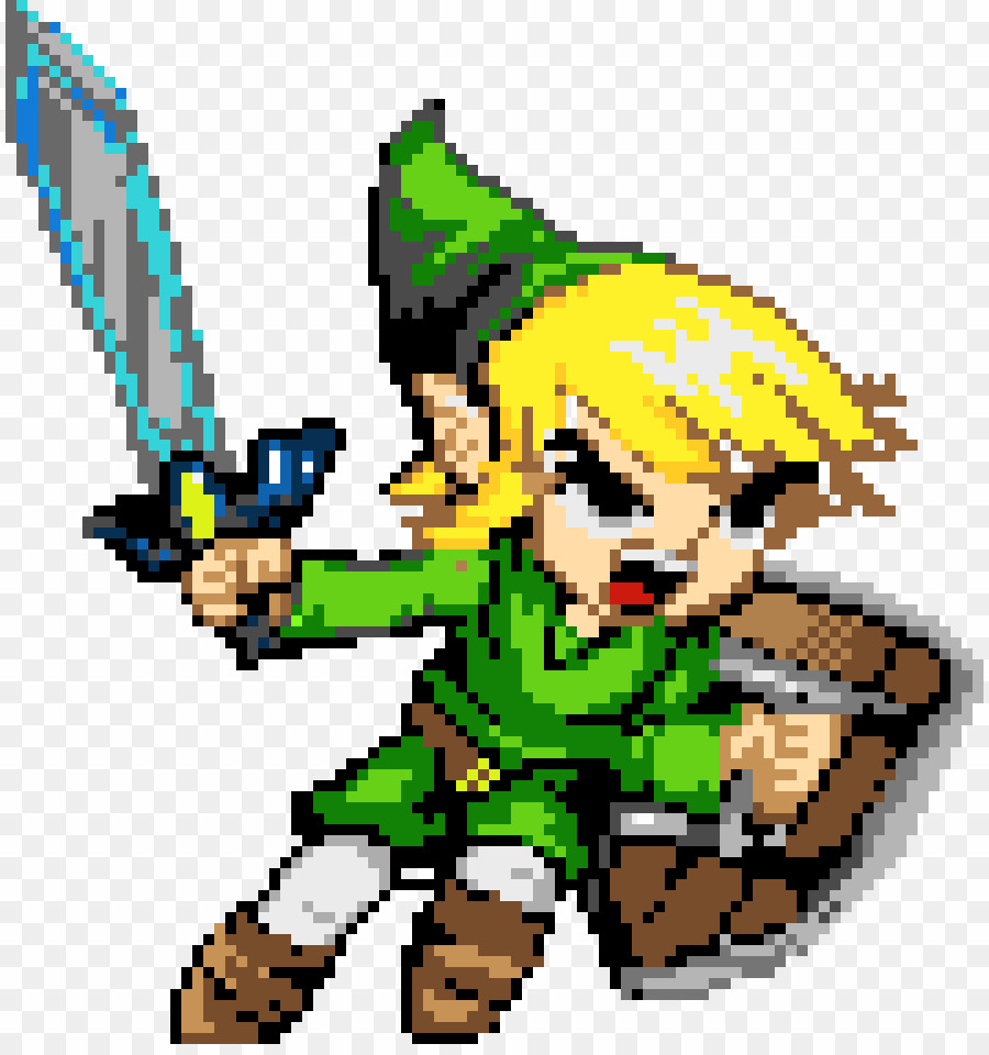 The name i go by zelda you clipart free Pixel Art Zelda PNG Link Pixel Art Clipart download - 890 ... free