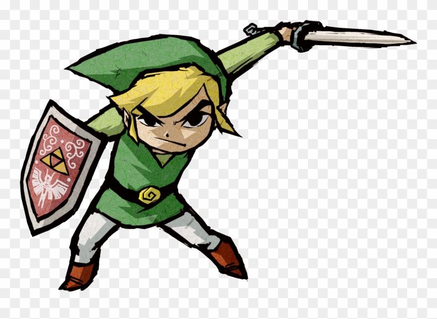 The name i go by zelda you clipart jpg transparent stock Rare Official Art Modern - Link Zelda Wind Waker Clipart ... jpg transparent stock