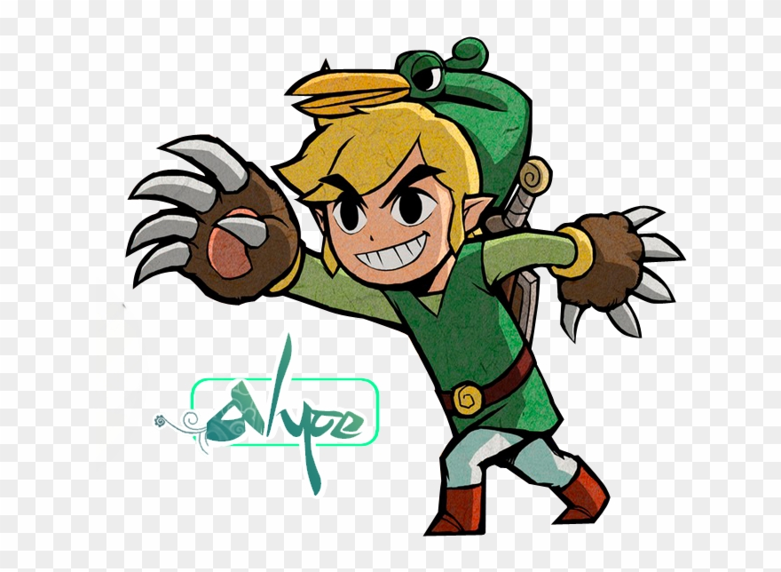 The name i go by zelda you clipart vector library library Zelda Clipart Cartoon - Legend Of Zelda Minish Cap - Png ... vector library library