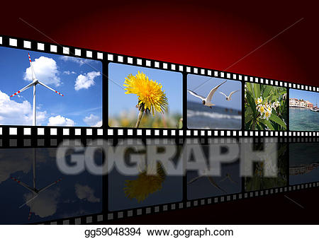 The natural movie clipart image stock Stock Illustration - Movie background. Clipart gg59048394 ... image stock