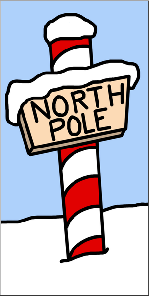 The north pole clipart clip freeuse stock Clip Art: North Pole Color I abcteach.com | abcteach clip freeuse stock