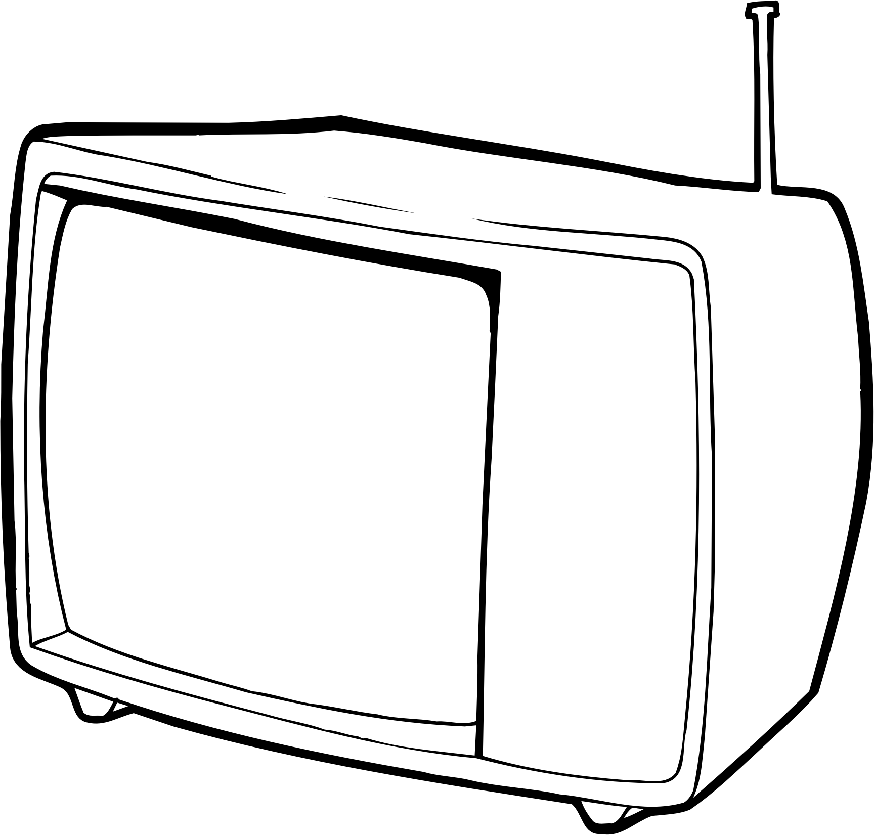 The office show clipart black and white freeuse Tv Clipart Black And White | Free download best Tv Clipart ... freeuse