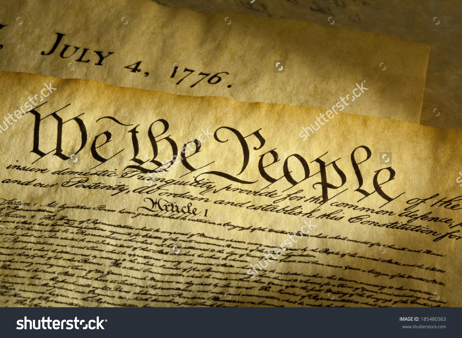 The people of the united states clipart banner free The Preamble of Constitution of the United States Clip Art ... banner free