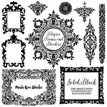 The range clipart frames png black and white library Gothic Frame Clip Art | Clip Art | Frame, Frame clipart ... png black and white library