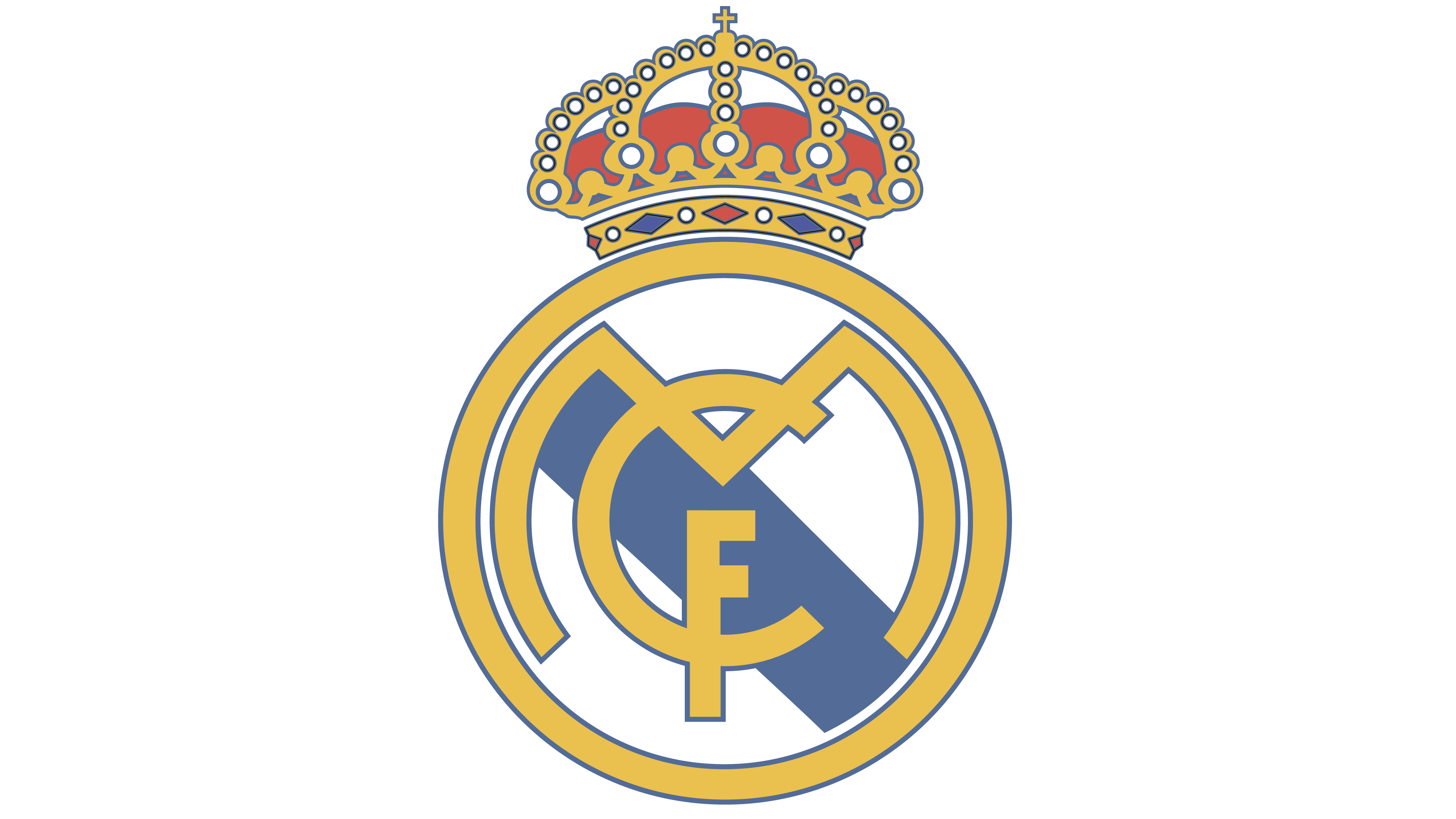 The real real logo clipart banner free library Real Madrid logo - Interesting History of the Team Name and ... banner free library