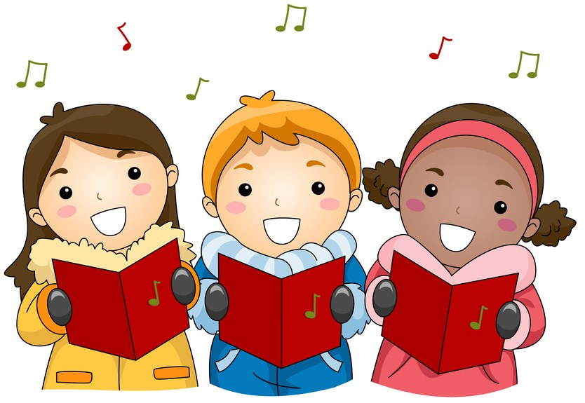 The season of singing has come clipart clipart royalty free library Learn French by Singing French Christmas Carols! - French as ... clipart royalty free library