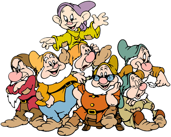 Snow white and seven drawfs clipart hd images vector royalty free library The Seven Dwarfs Clip Art | Disney Clip Art Galore vector royalty free library