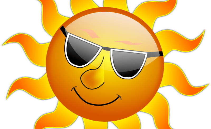 The sun with a face clipart graphic royalty free stock Sunshine Happy Face Clip Art | Beauty Within Clinic graphic royalty free stock