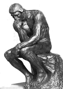 The thinker clipart free clip art stock The Thinker | Free Images at Clker.com - vector clip art ... clip art stock