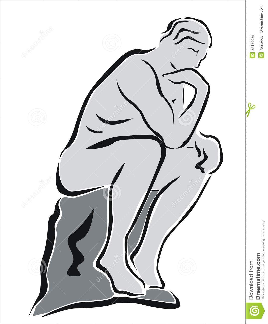 The thinker clipart free graphic freeuse stock The thinker clipart free 2 » Clipart Portal graphic freeuse stock