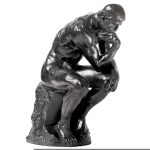 The thinker clipart free vector Rodin Thinker Clipart | Free Images at Clker.com - vector ... vector