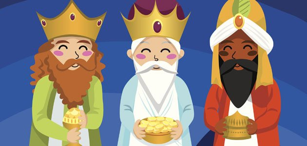 The three kings clipart graphic black and white download Magical night of the Three Kings - Blog de Primero Primera ... graphic black and white download
