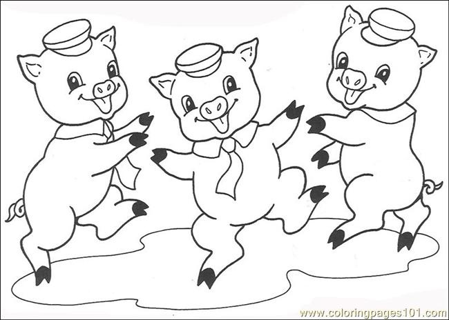 The three little pigs clipart black and white vector download Three little pigs clipart black and white 8 » Clipart Station vector download