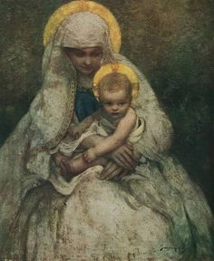 The virgins mary had a baby boy clipart image royalty free download 62 Best Virgin Mary Child Jesus/Holy Family Images images in ... image royalty free download