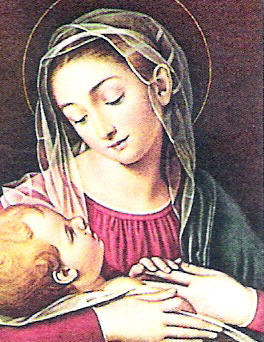 The virgins mary had a baby boy clipart image free stock Blessed Virgin Mary image free stock