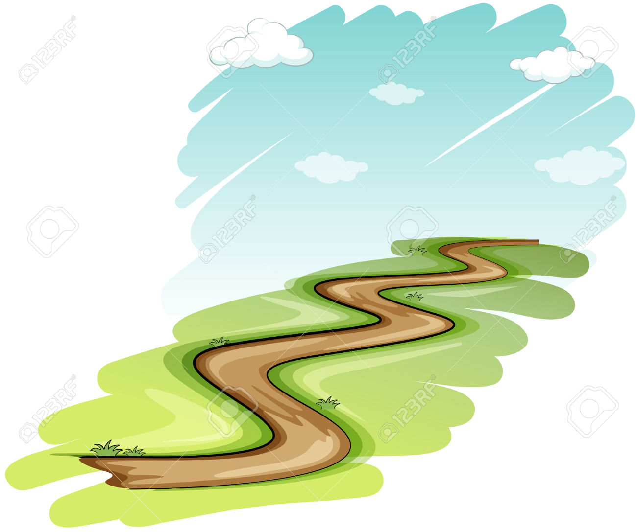 On the way clipart png free library Pathway Clipart | Free download best Pathway Clipart on ... png free library