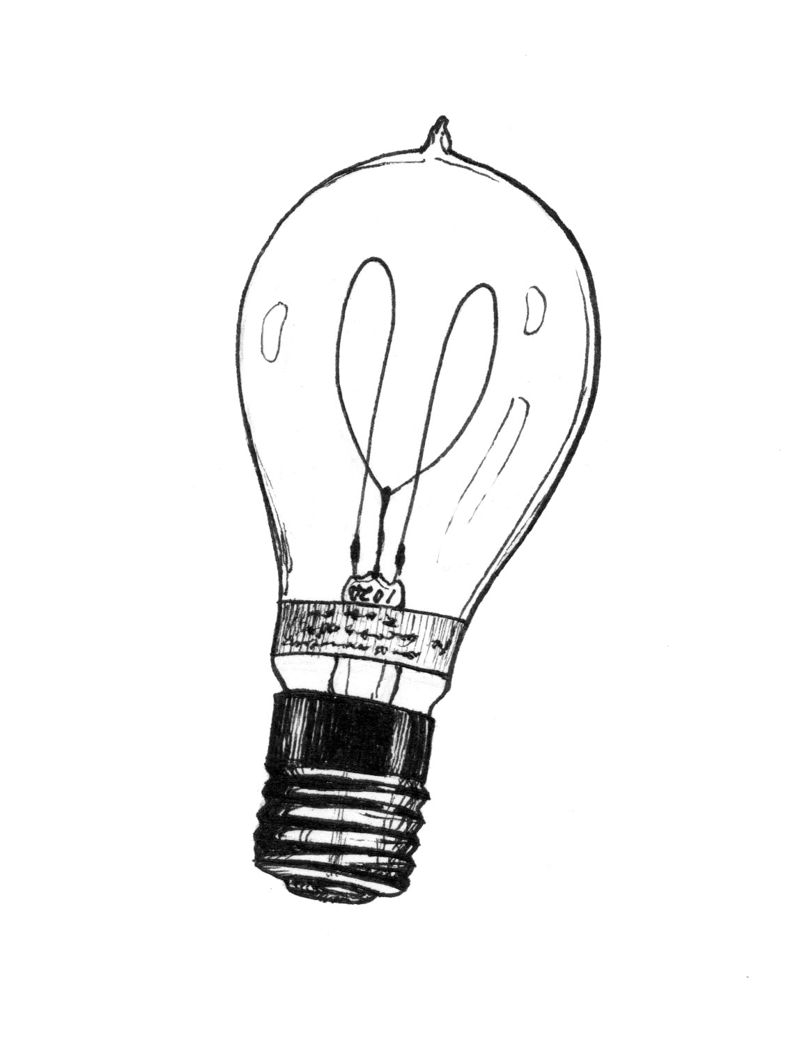 The way of light clipart png freeuse download Light Bulb Drawing Halogen Way Clipart - Free Clip Art ... png freeuse download