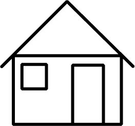 The white house clipart black and white free svg library library House black and white house outline clipart black and white ... svg library library