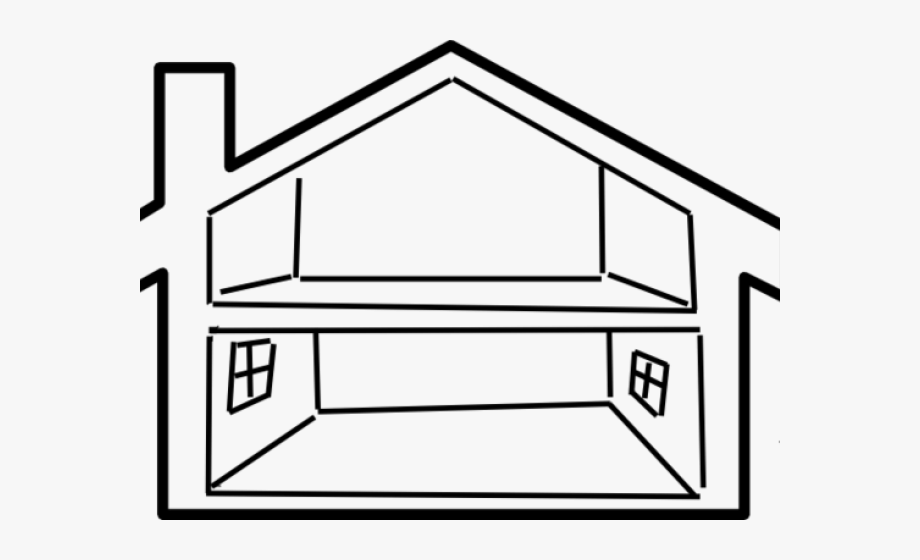 The white house clipart inside clip transparent library White House Clipart House Number - Inside House Outline ... clip transparent library