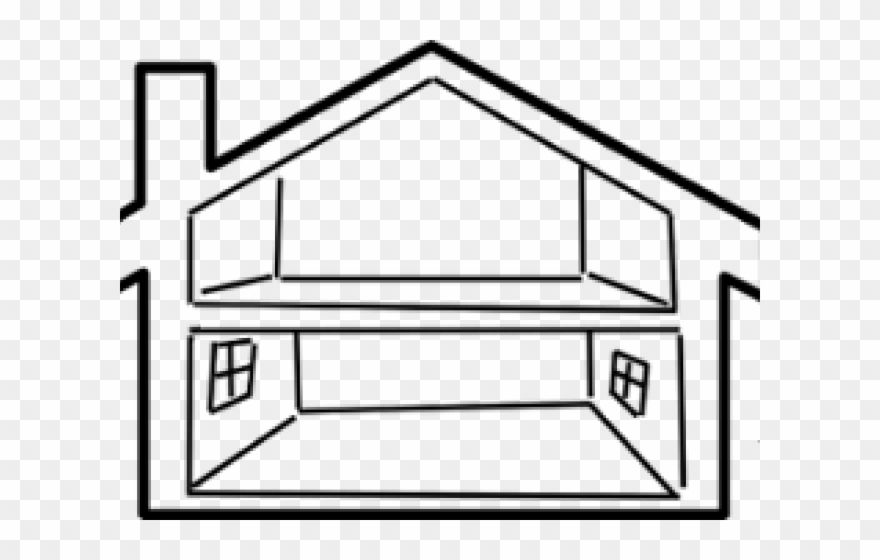 The white house clipart inside clip transparent download Old House Clipart Vacant House - Inside A House Png ... clip transparent download