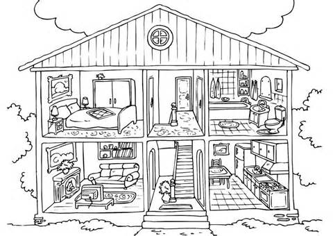 The white house clipart inside free library Parts of the house clipart black and white 2 » Clipart Station free library