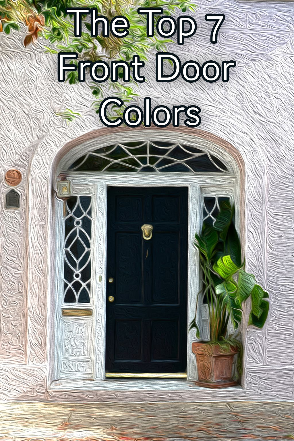 The white house front door arch clipart clip library library The 7 Best Front Door Colors for 2018 | Rugh Design clip library library