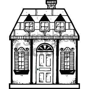 The white house front door arch clipart clipart library stock house clipart - Royalty-Free Images | Graphics Factory clipart library stock